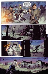 Highlander comic page