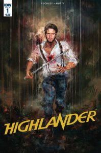 Highlander IDW comic
